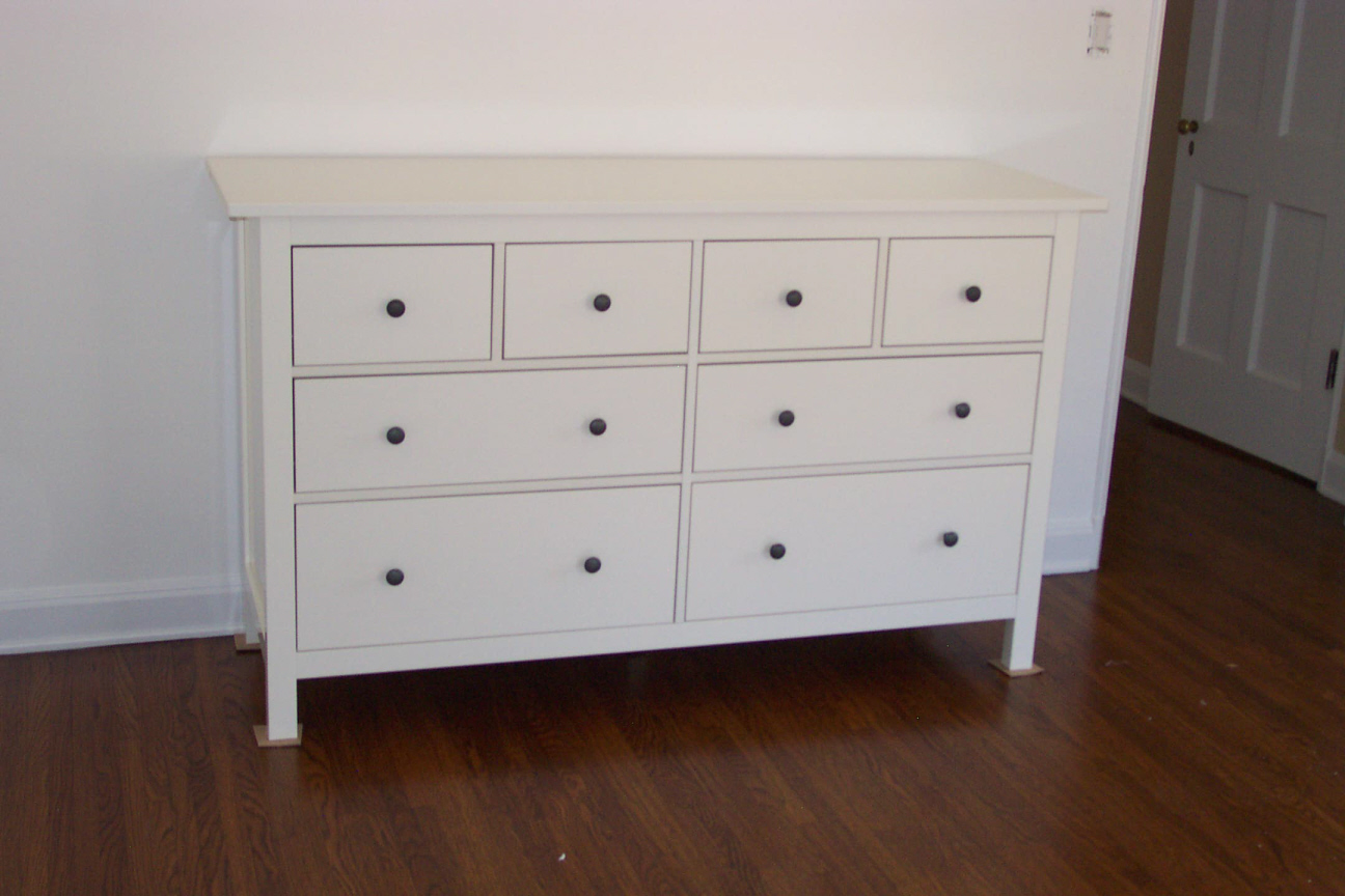 Hemnes 8 Drawer Dresser