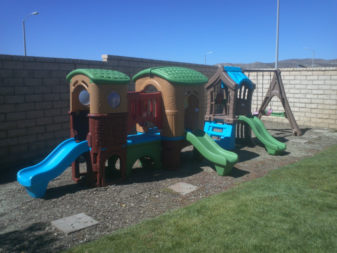 Little Tikes Swing Set and Club House