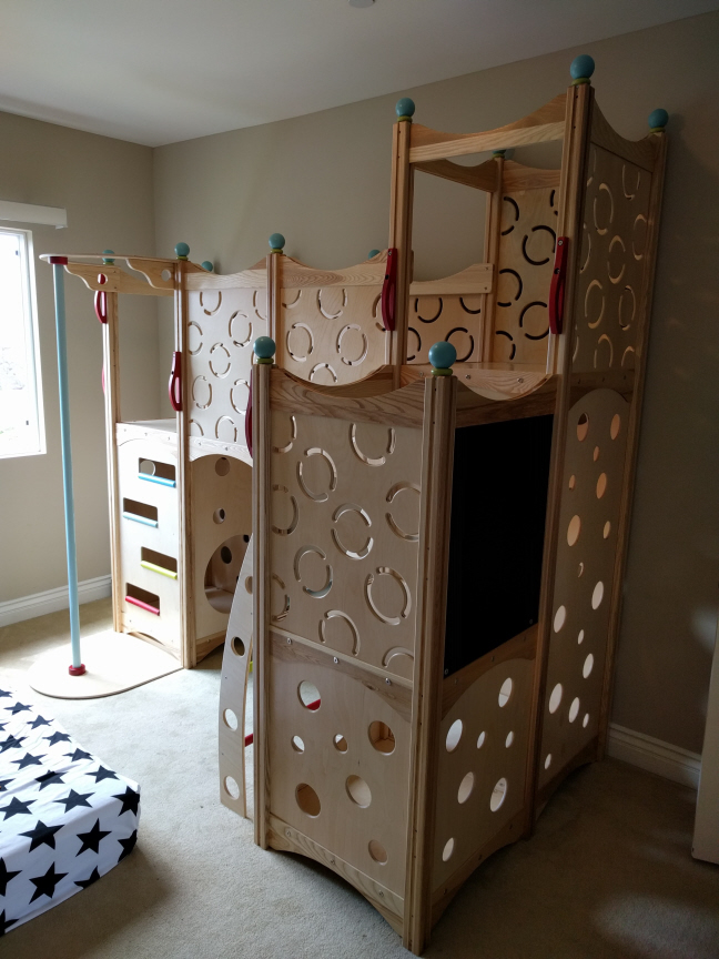CedarWorks Indoor Play Set #997